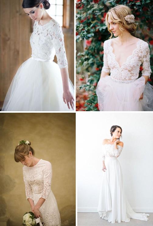 Svadobné šaty s dlhým rukávom  e5d8d998f94