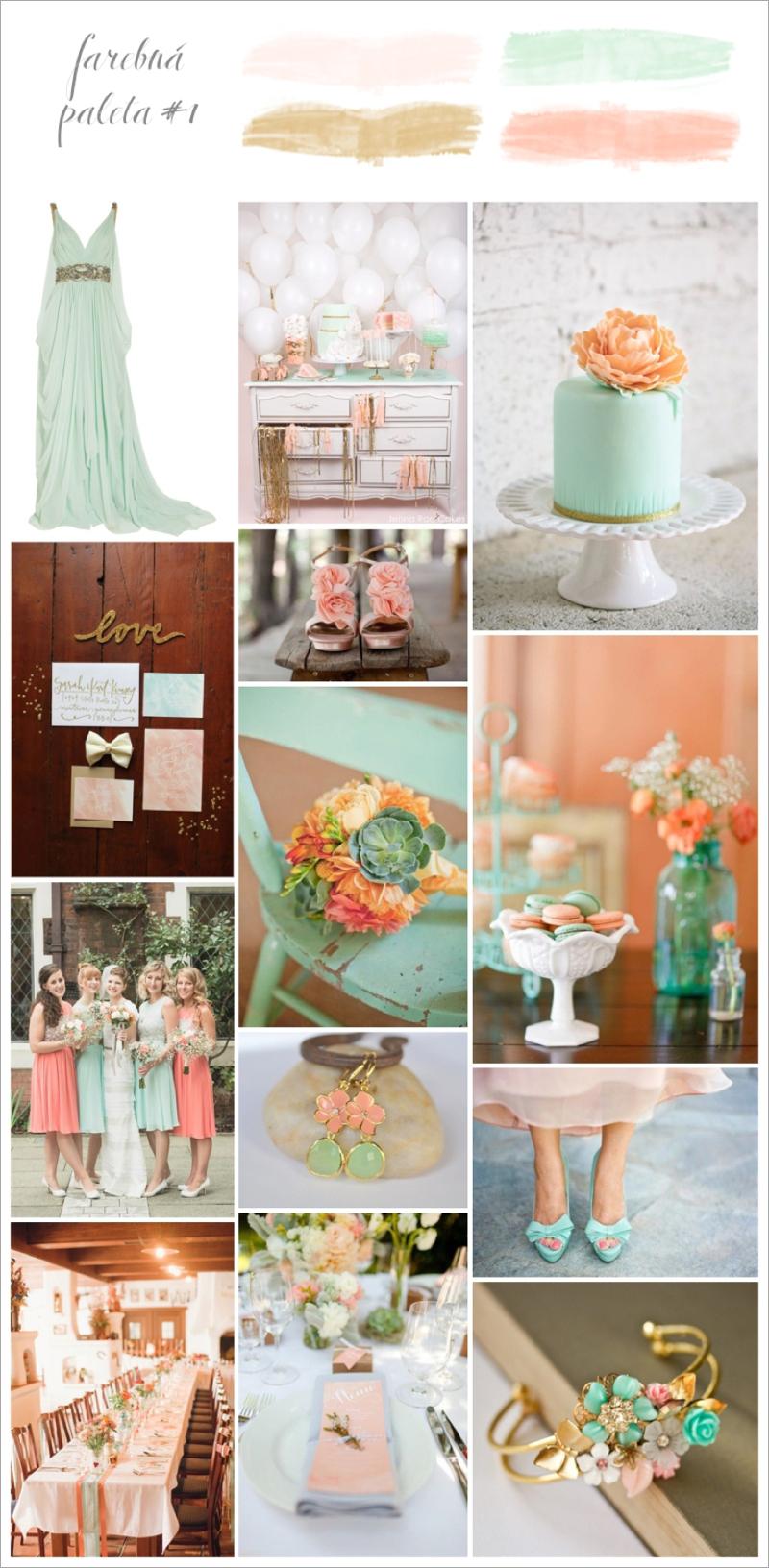 Perfect Day, svadba, farebna paleta 1