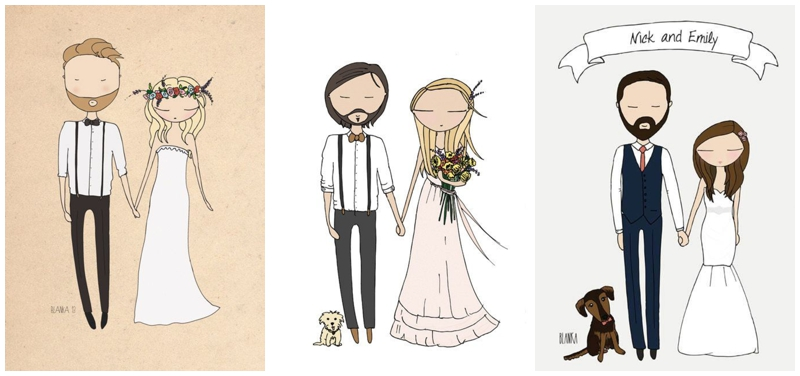 Perfect Day, svadba, pozvánky, rucne malovane_0001