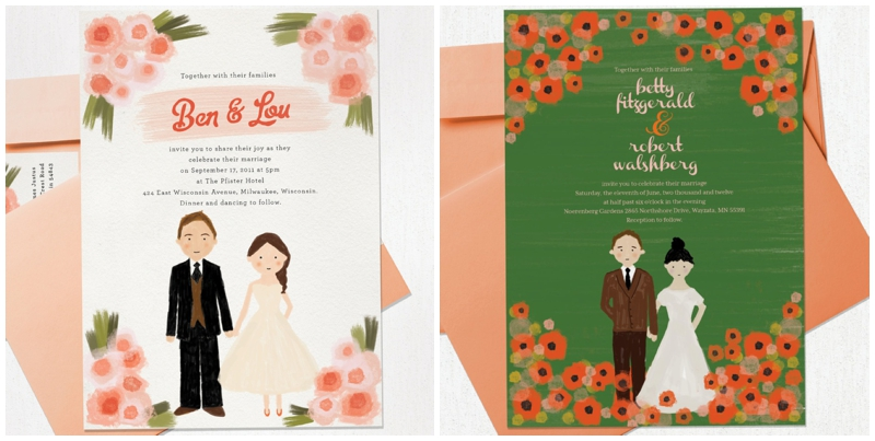 Perfect Day, svadba, pozvánky, rucne malovane_0002