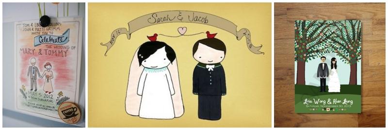 Perfect Day, svadba, pozvánky, rucne malovane_0005