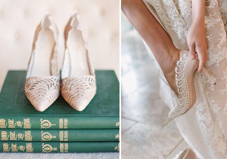 1a7ee53164 Svadobné topánky v odtieňoch bielej
