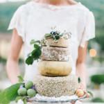 Mňam – Syrová svadobná torta