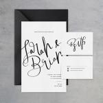 Pozvánky – čiernobiela inšpirácia