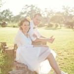 Svadobné fotky ako z rozprávky od Wildflowers – Ateliér v záhrade