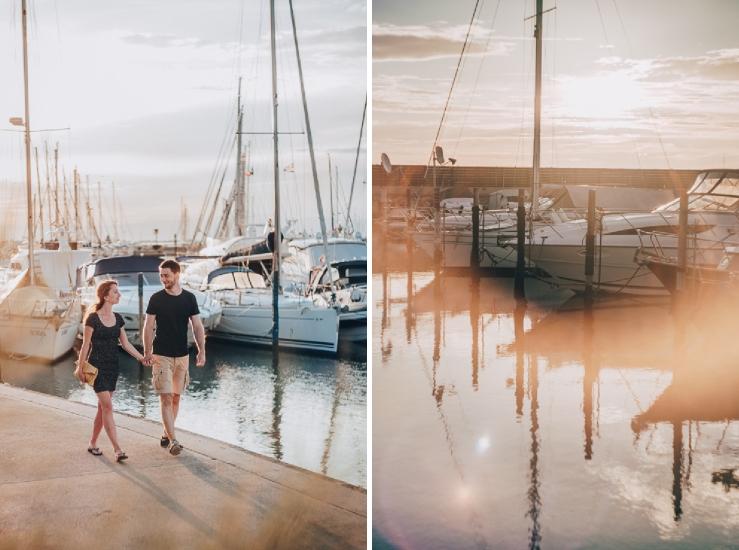 svadobne portrety pri mori Lignano Taliansko